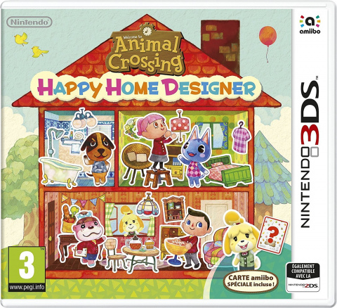 Welcome to Animal Crossing Happy Home Designer